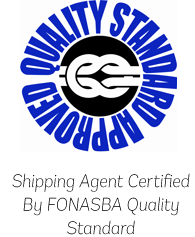 Shipping Agent Certified By FONASBA Quality Standard